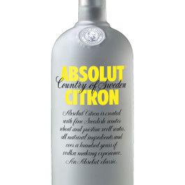 Absolut Citron Std. Nova Vodka 750ML