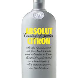 Absolut Citron Std. Nova Vodka 750ML