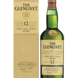 Glenlivet Single Malt Scotch 750ML