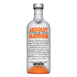 Absolut Mandarin Vodka 750ML