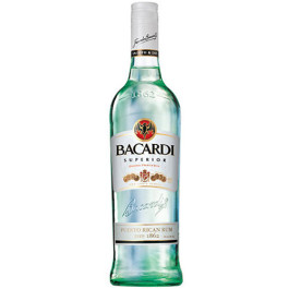 Bacardi Rum White Superior 750ML